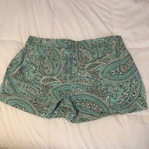Old Navy Shorts - LAST CHANCE! Old Navy paisley print shorts, size 8